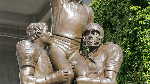 Don Shula's perfection statue at Sun Life Stadium