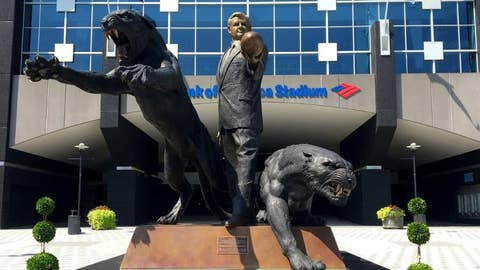 Jerry Richardson's panther army at Bank of America Stadium