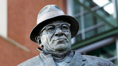 Vince Lombardi at Lambeau Field