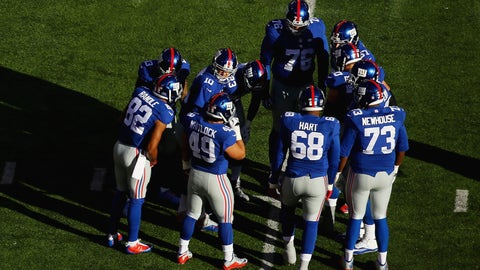 New York Giants: Offensive line