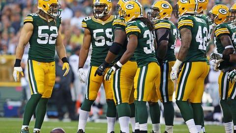 Green Bay Packers: Inside linebacker