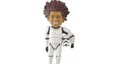 Chris Archer as a stormtrooper