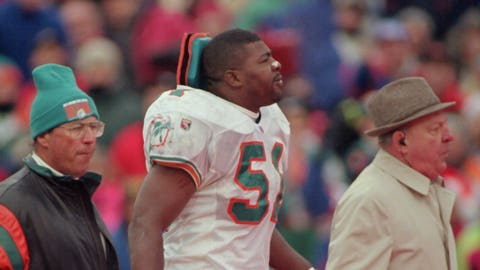 Bryan Cox -- Inside linebacker (1991-2002)