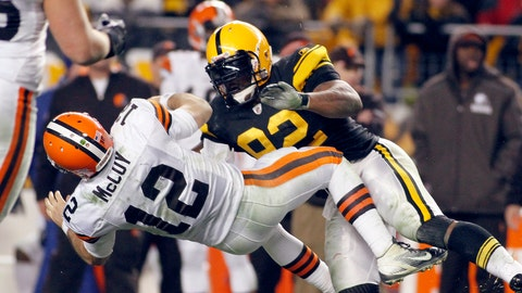 James Harrison -- Outside linebacker (2002-15)