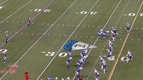 The Indianapolis Colts' fake punt goes spectacularly wrong (Week 6)