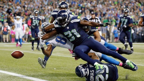 Kam Chancellor strips Calvin Johnson to save the game (Week 3)
