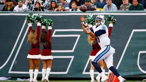 Titans QB Marcus Mariota catches a 41-yard touchdown pass (Week 14)