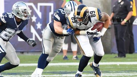Los Angeles Rams -- Tyler Higbee (TE)