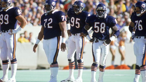 Defense/Special teams: Chicago Bears (1985)