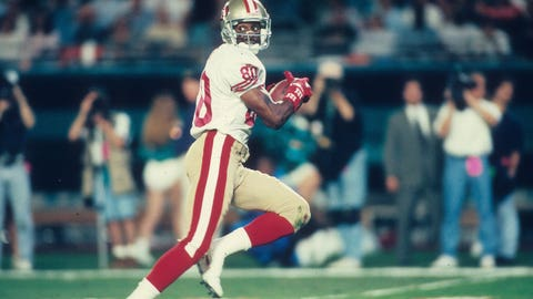 Wide receiver: Jerry Rice (1995)