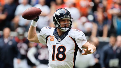 Quarterback: Peyton Manning (2013)