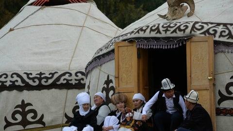 The yurt life