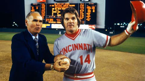 Pete Rose makes run at Joe DiMaggio