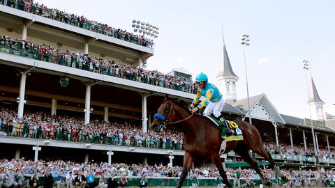 Photo finish: The 141st Kentucky Derby in pictures