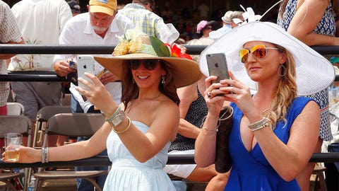 On the scene: The 140th Preakness Stakes in pictures