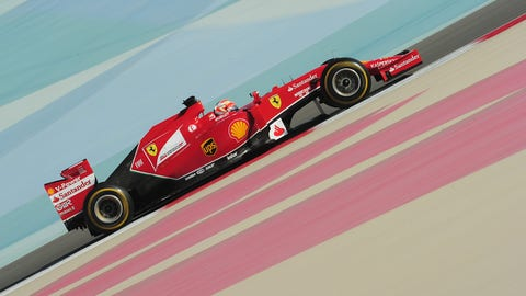 Formula One Winter Test: Bahrain
