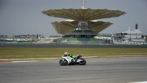 MotoGP test at Sepang