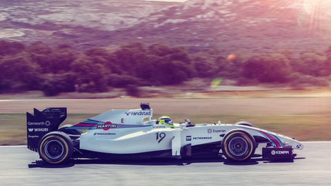 Williams Martini Racing Launch