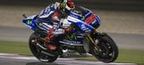 Lorenzo makes improvements to qualify on second row in Qatar