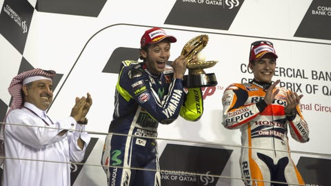 Photos: MotoGP action at Losail Circuit