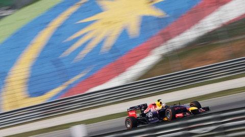 F1 Malaysian GP practice