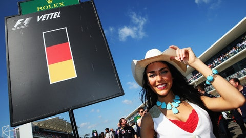 Formula 1 grid girls