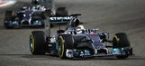 Hamilton edges Rosberg to win the F1 Bahrain Grand Prix