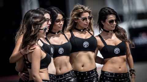 Photos: MotoGP grid girls of Texas