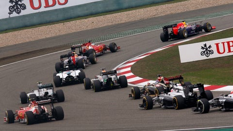 Photos: Formula 1 action from Chinese GP