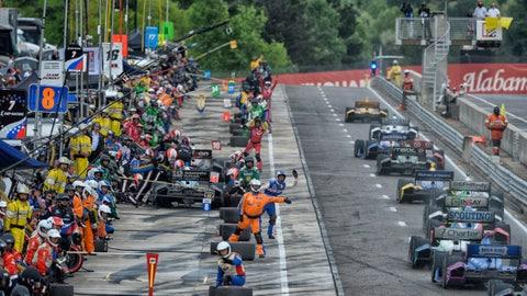 Photos: IndyCar action from Alabama