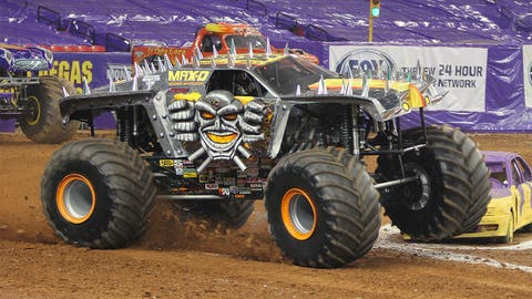 Monster Jam racing in Atlanta: Max-D (SM)