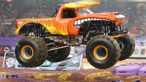 Monster Jam racing in Atlanta: El Toro Loco®