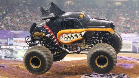 Monster Jam racing in Atlanta: Monster Mutt® Rottweiler