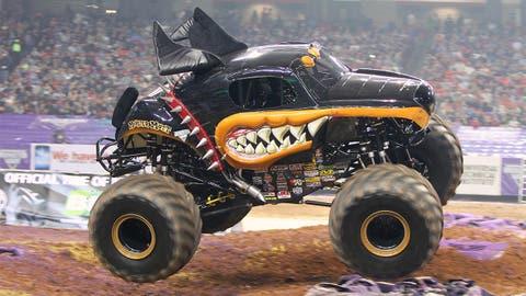 Monster Jam racing in Atlanta: Monster Mutt® Rottweiler
