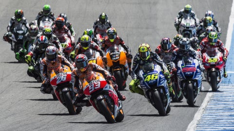 Photos: MotoGP action from Jerez