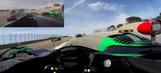 Video: Scott Sharp visor cam at Mazda Raceway