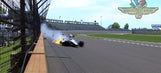 Kurt Busch goes to backup car following crash in Indy 500 practice