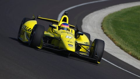 2014 Indy 500 grid: 27th position