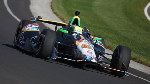 2014 Indy 500 grid: 25th position