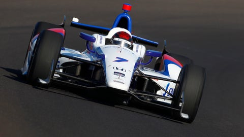 2014 Indy 500 grid: 15th position
