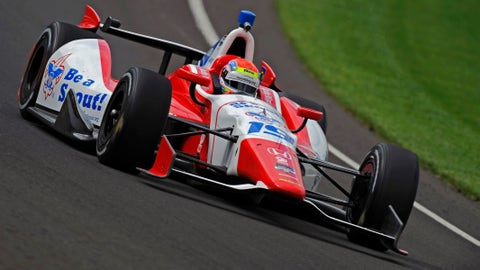 2014 Indy 500 grid: 14th position