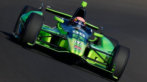 2014 Indy 500 grid: 13th position