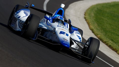 2014 Indy 500 grid: 9th position