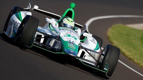 2014 Indy 500 grid: 7th position