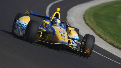 2014 Indy 500 grid: 6th position