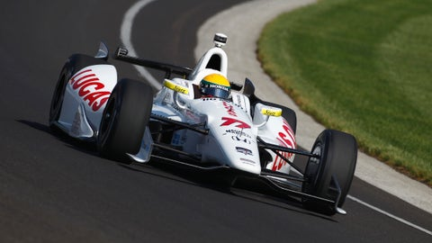 2014 Indy 500 grid: 5th position