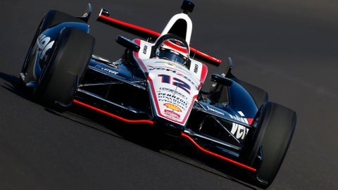 2014 Indy 500 grid: 3rd position