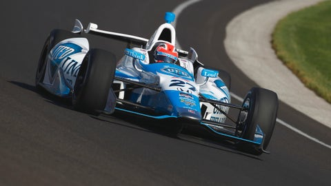 2014 Indy 500 grid: 2nd position