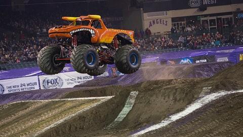 Monster Jam racing in Anaheim: El Toro Loco®