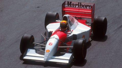 Photos: Senna at Monaco